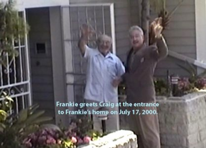 Frankie Laine and Craig Cronbaugh at Frankie's home. copy